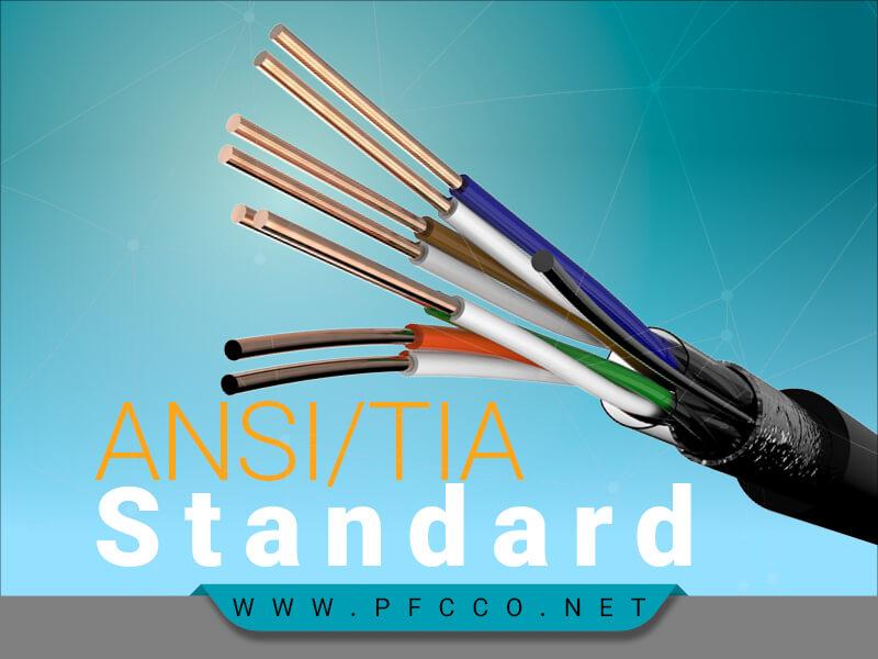 اصول استانداردهای ANSI TIA-568.2-D کابل مسی