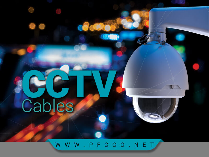 انواع کابل دوربین مداربسته CCTV