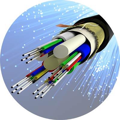 کابل های فیبر نوری