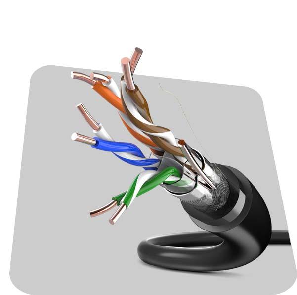 CAT6 SFTP DJ HDPE
