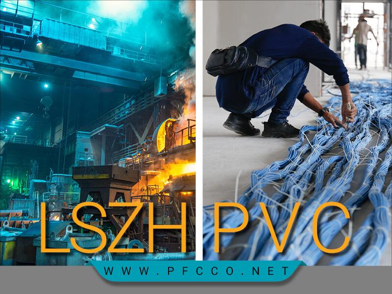 روکش LSZH در برابر روکش PVC