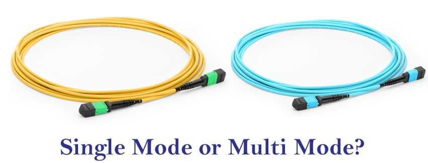 تفاوت کابل SM و MM در شبکه