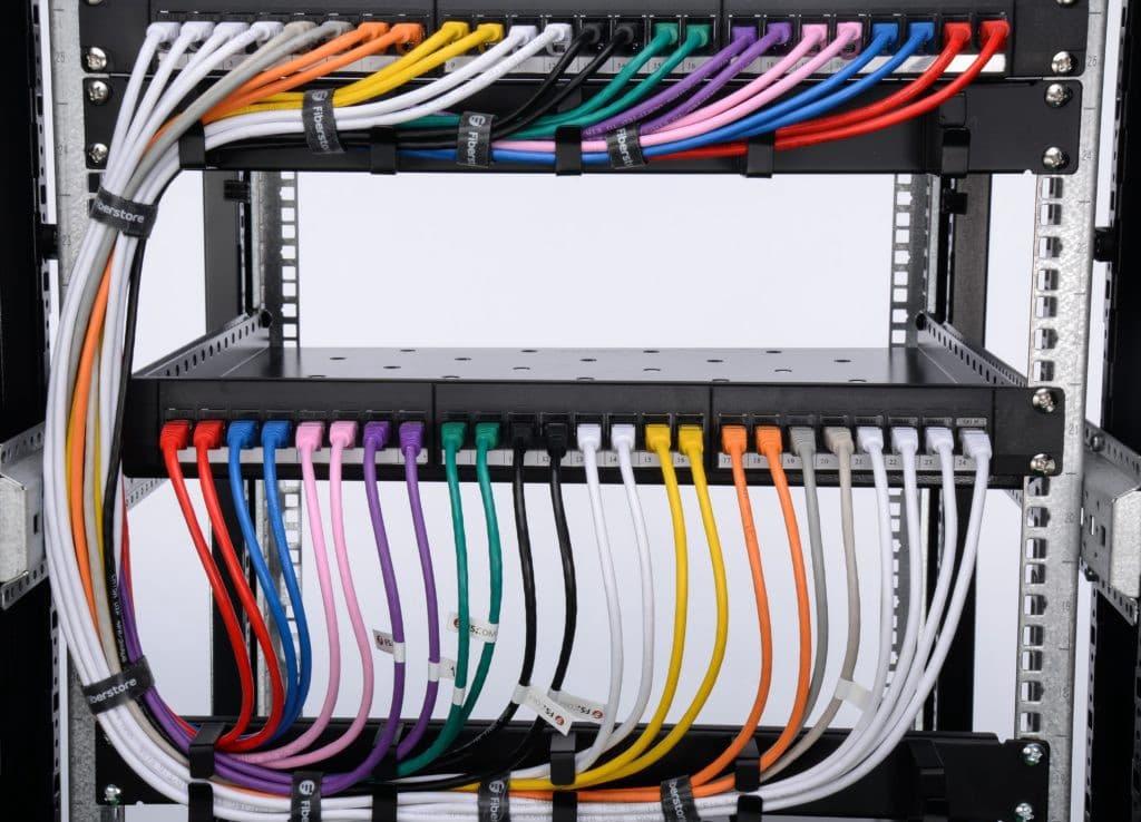 انواع مدیریت کابل شبکه