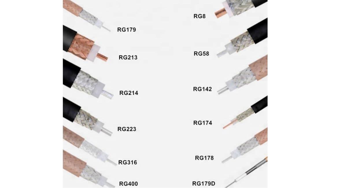 انواع کابل rg59