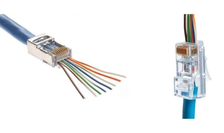 آشنایی با رنگ بندی کابل شبکه برای سوکت زدن آن