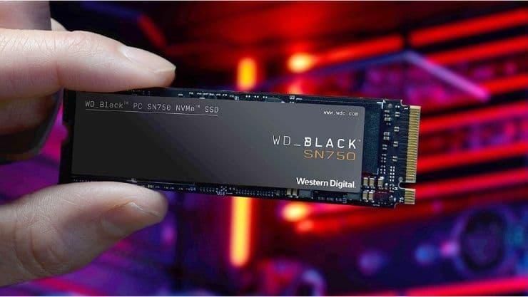 ظرفیت حافظه هارد SSD