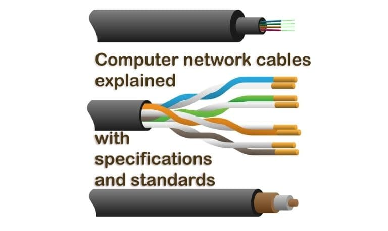 انواع کابل های شبکه چیست؟