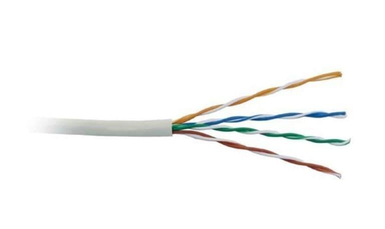 کابلهای زوج به هم تابیده بدون روکش (unshielded Twisted Pair)